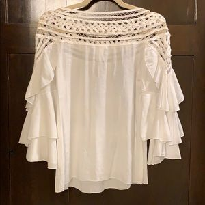 Esley Collection Tops - White Blouse Boutique - Esley Collection